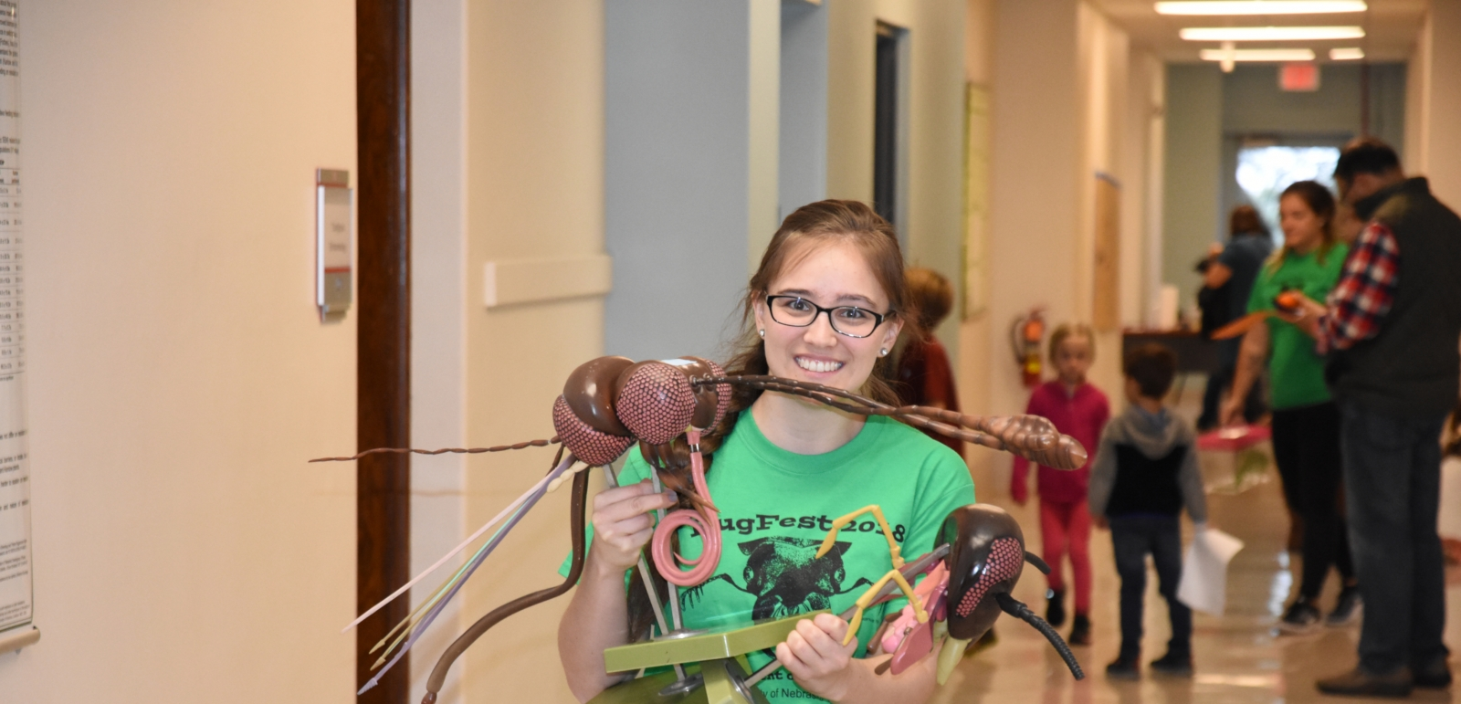 bugfest activities with k-12 students